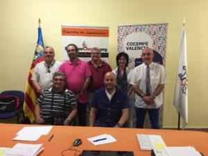 Junta COCEMFE Valencia